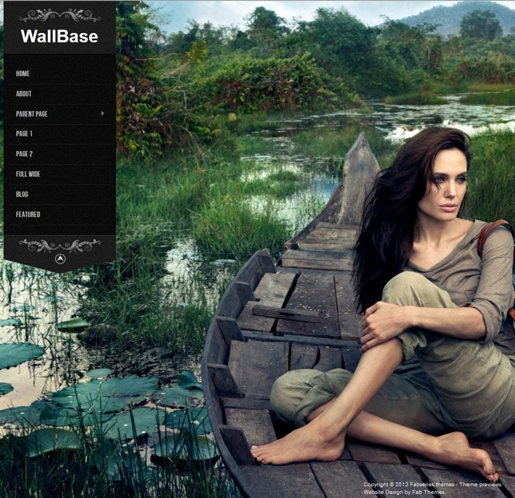 Wallbase WordPress шаблон