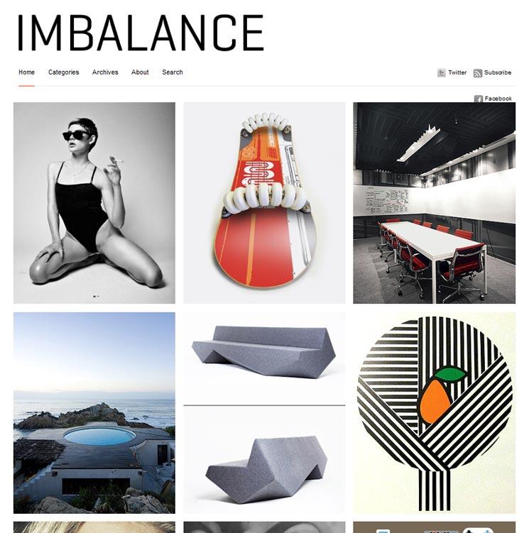 Imbalance WordPress шаблон