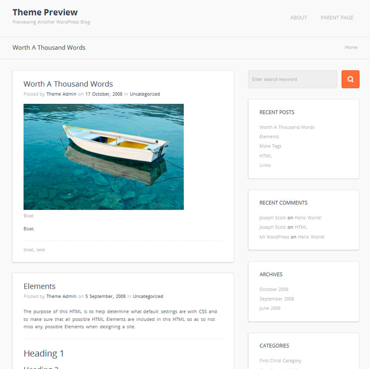 Travel Planet WordPress шаблон