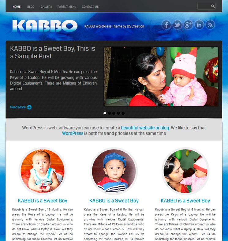KABBO WordPress шаблон