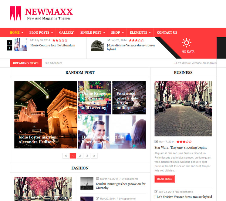 News Maxx — Lite WordPress шаблон