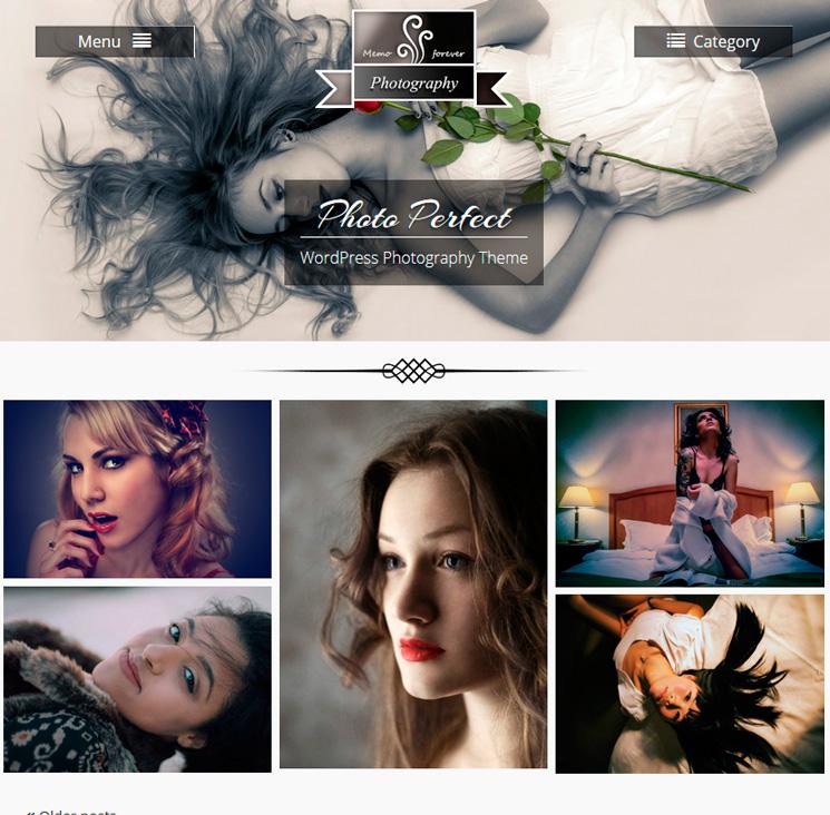 Photo Perfect WordPress шаблон